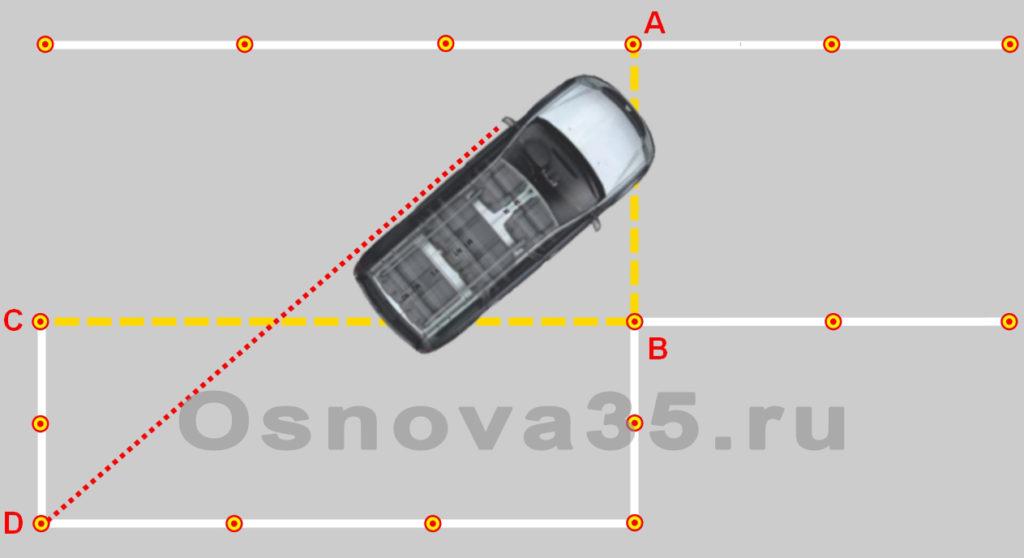 Параллельная парковка пошаговая инструкция