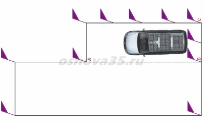 упражнение параллельная парковка задним ходом