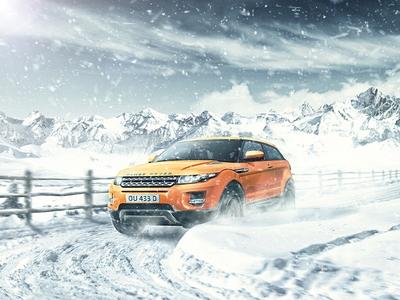 Обучение вождению зимой