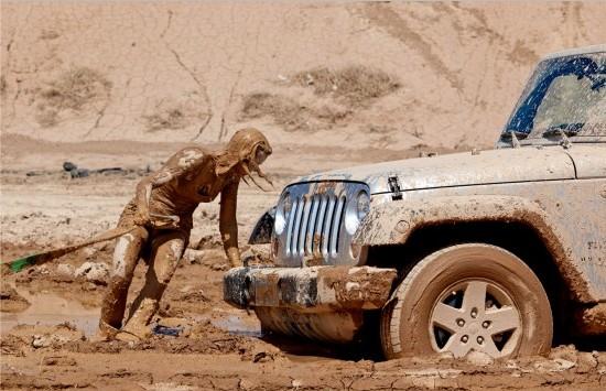 Правила езды по грязи