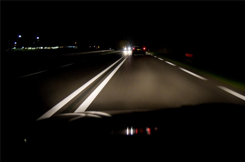 Вождение в темное время суток