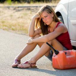 Ошибки, которые допускают женщины-водители