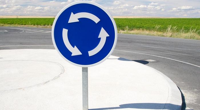 Правила проезда кругового движения